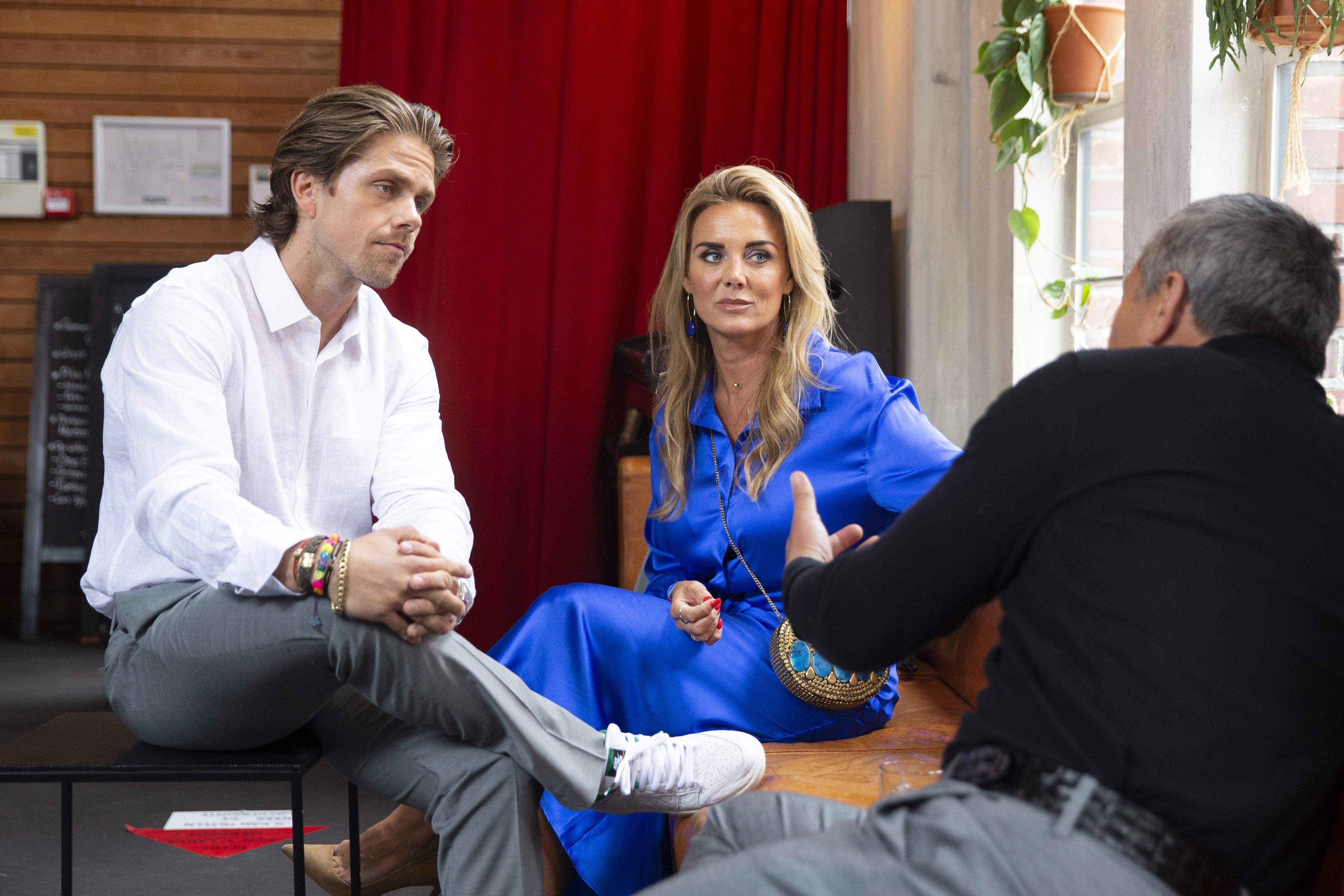 Een foto van André Hazes en Monique