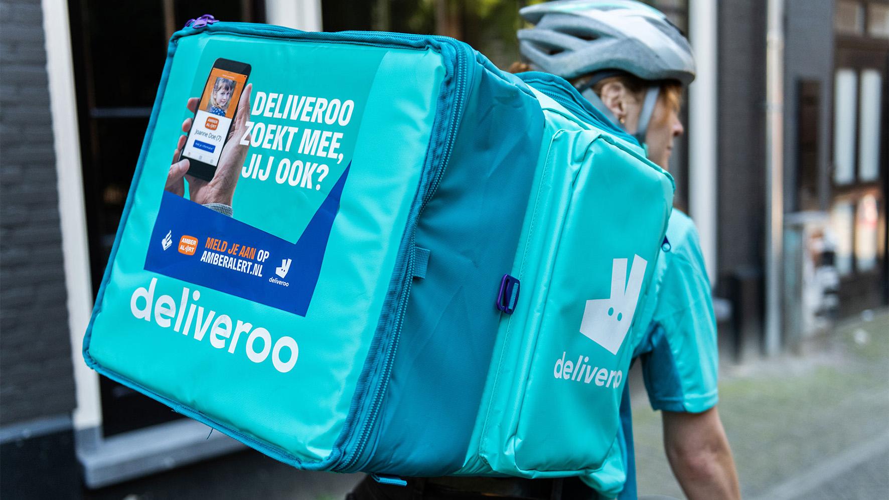 Deliveroo-bezorgers zoeken naar vermiste personen, 'hoe meer mensen uitkijken, hoe beter'