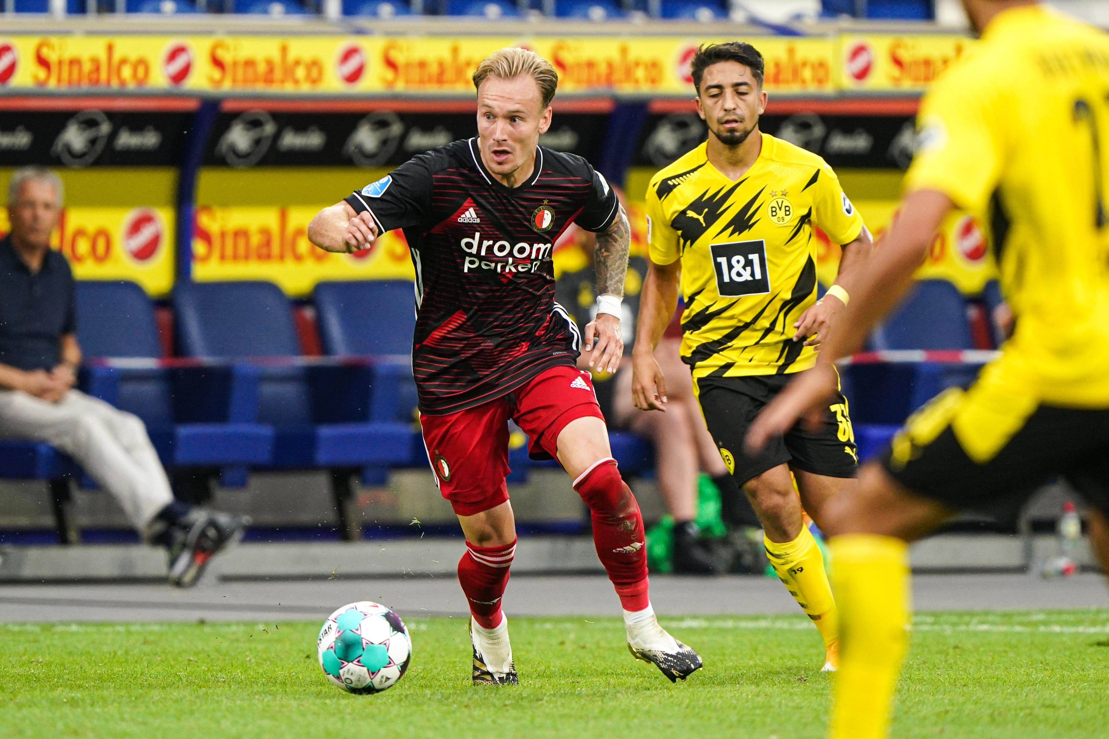 Een foto van Mark Diemers, nieuw bij Feyenoord