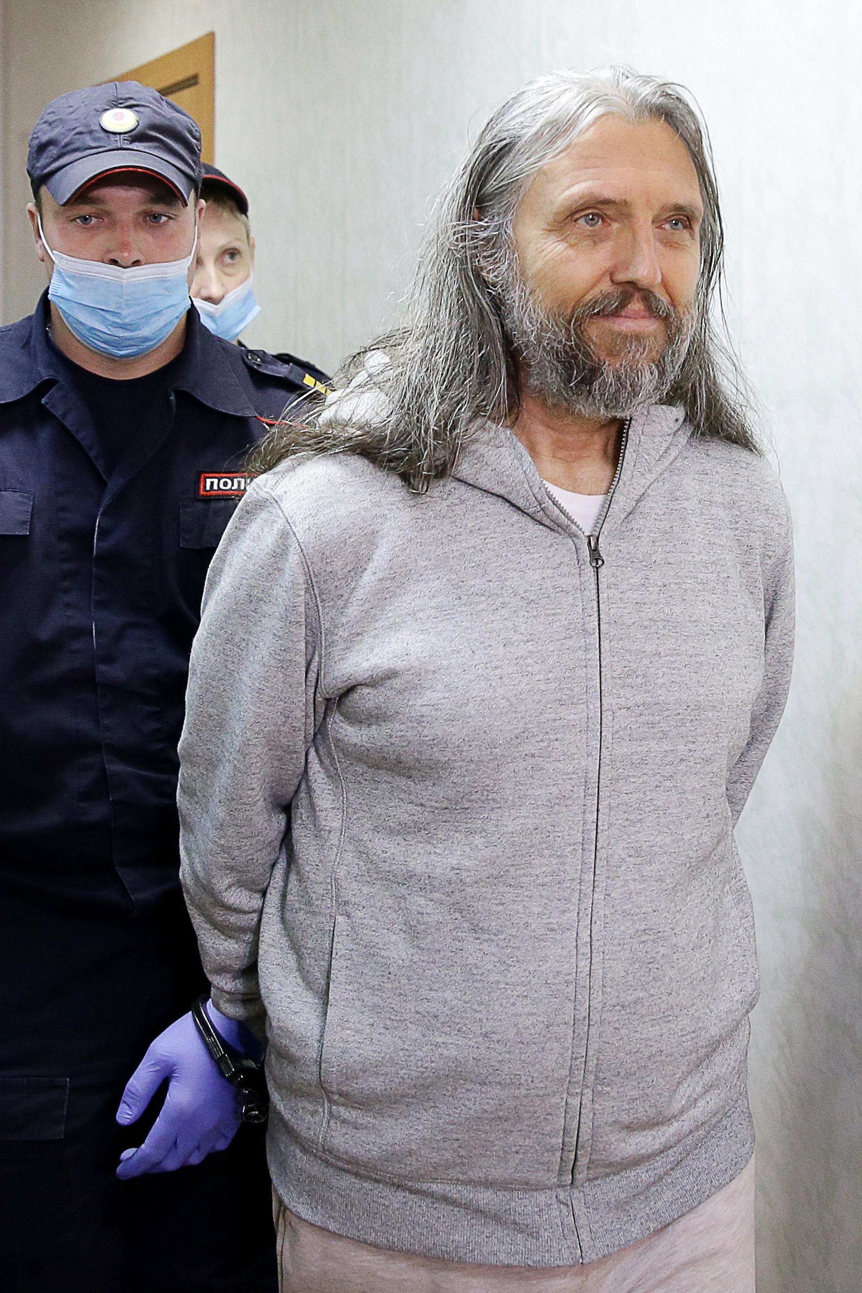 Russische sekteleider gearresteerd omdat hij denkt dat hij Jezus is