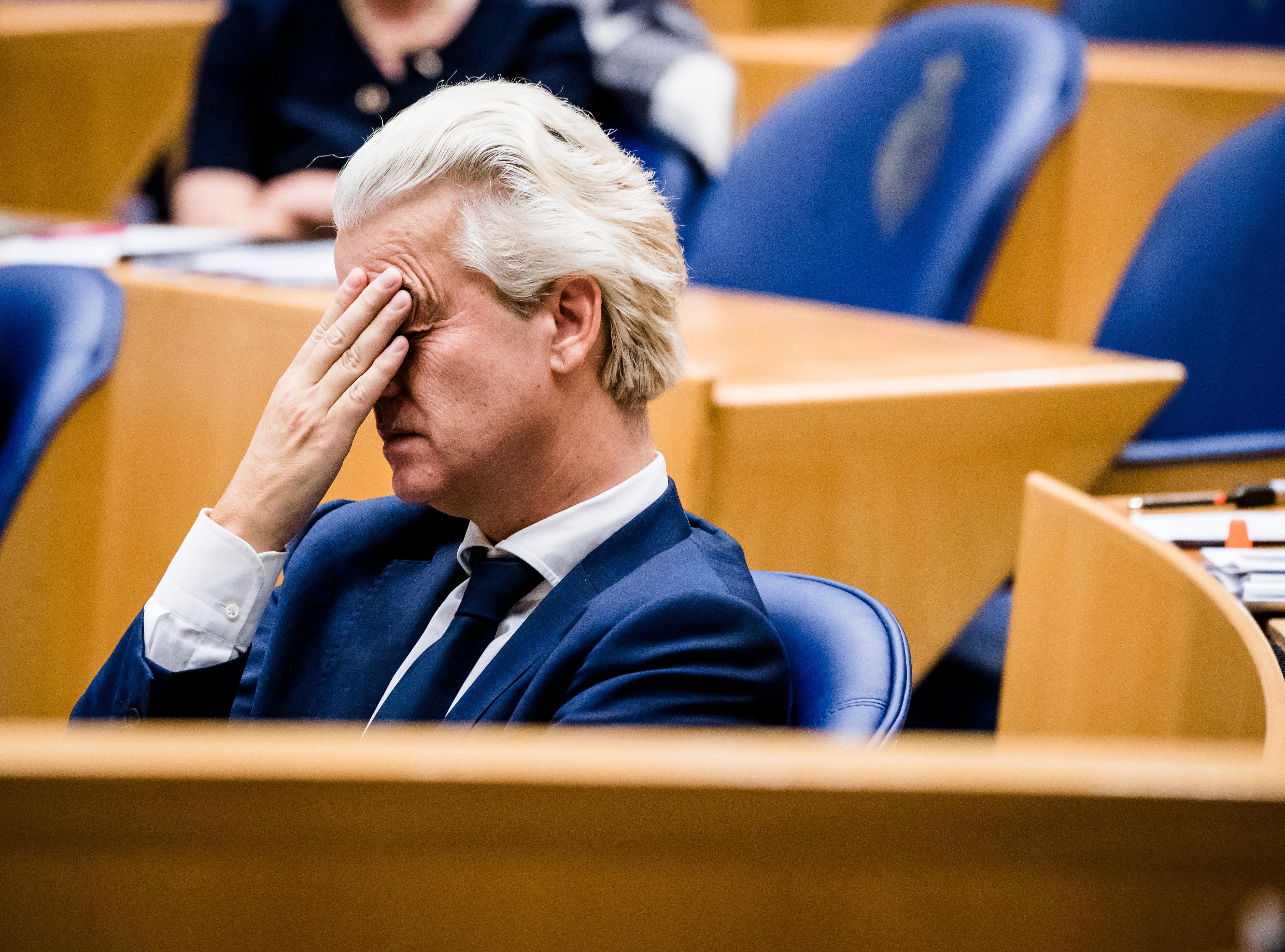 Een foto van Geert Wilders die Hugo de Jonge niet meer vertrouwt