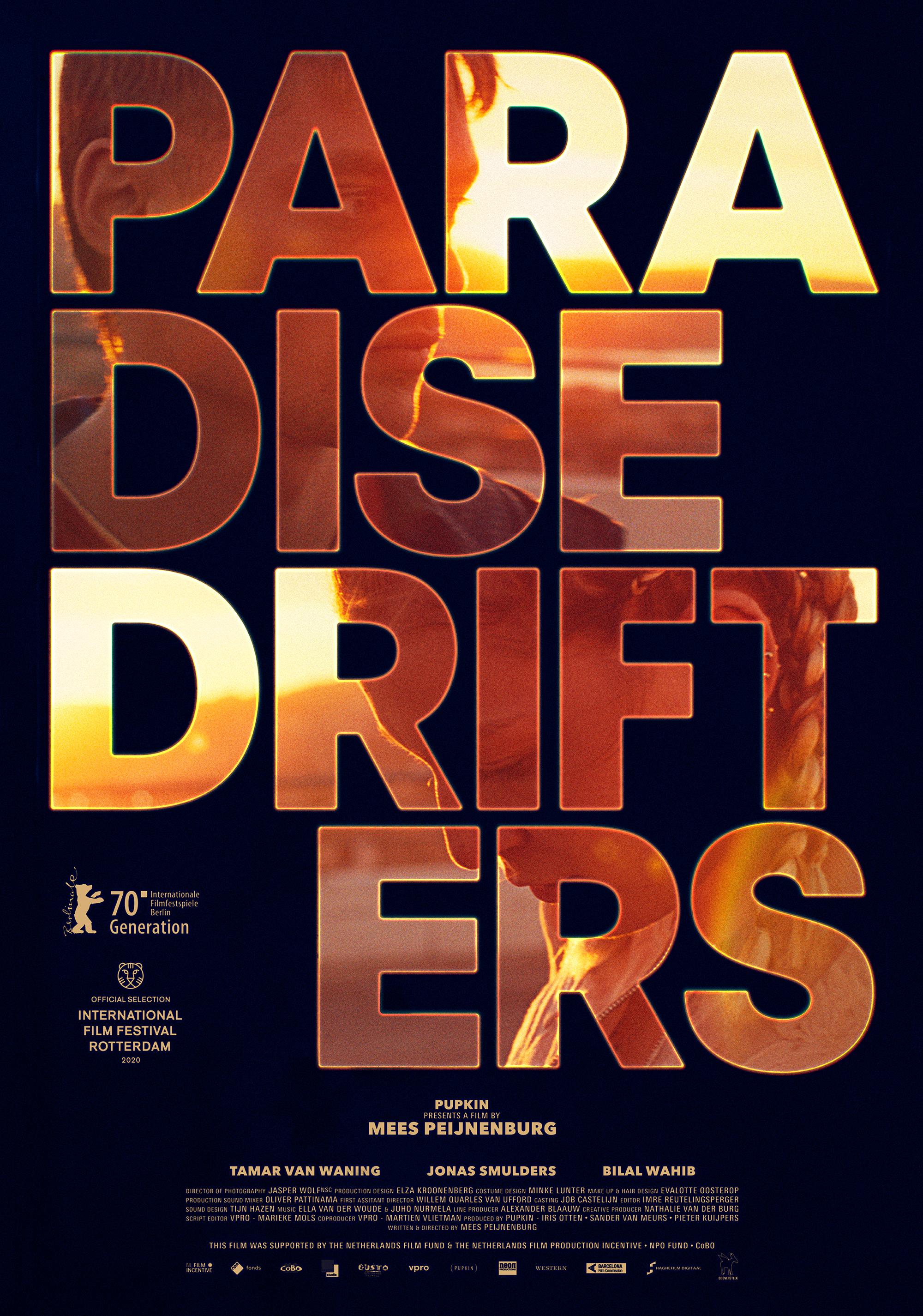 Een poster van Paradise Drifters