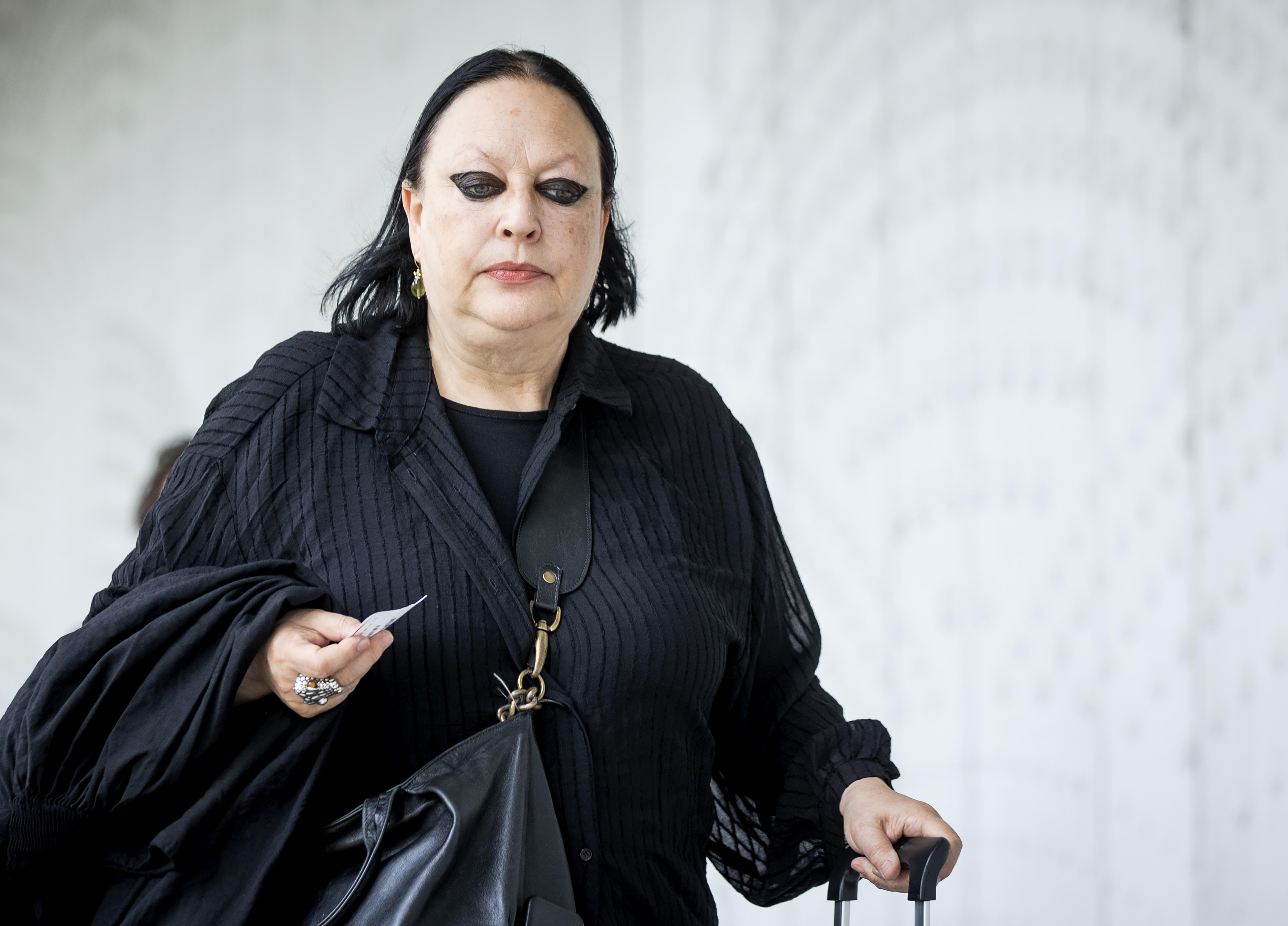 Een foto van Inez Weski, de advocaat van Taghi