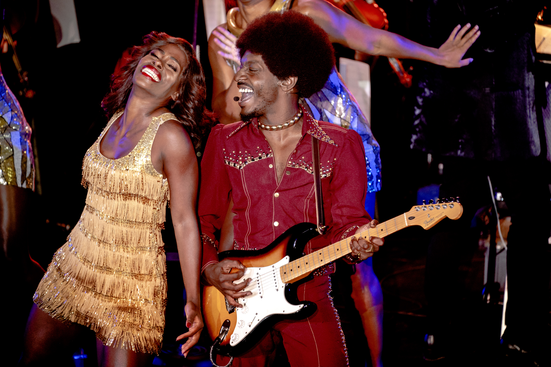 Een foto van de Tina Turner-musical tijdens de Musical Sing a Long