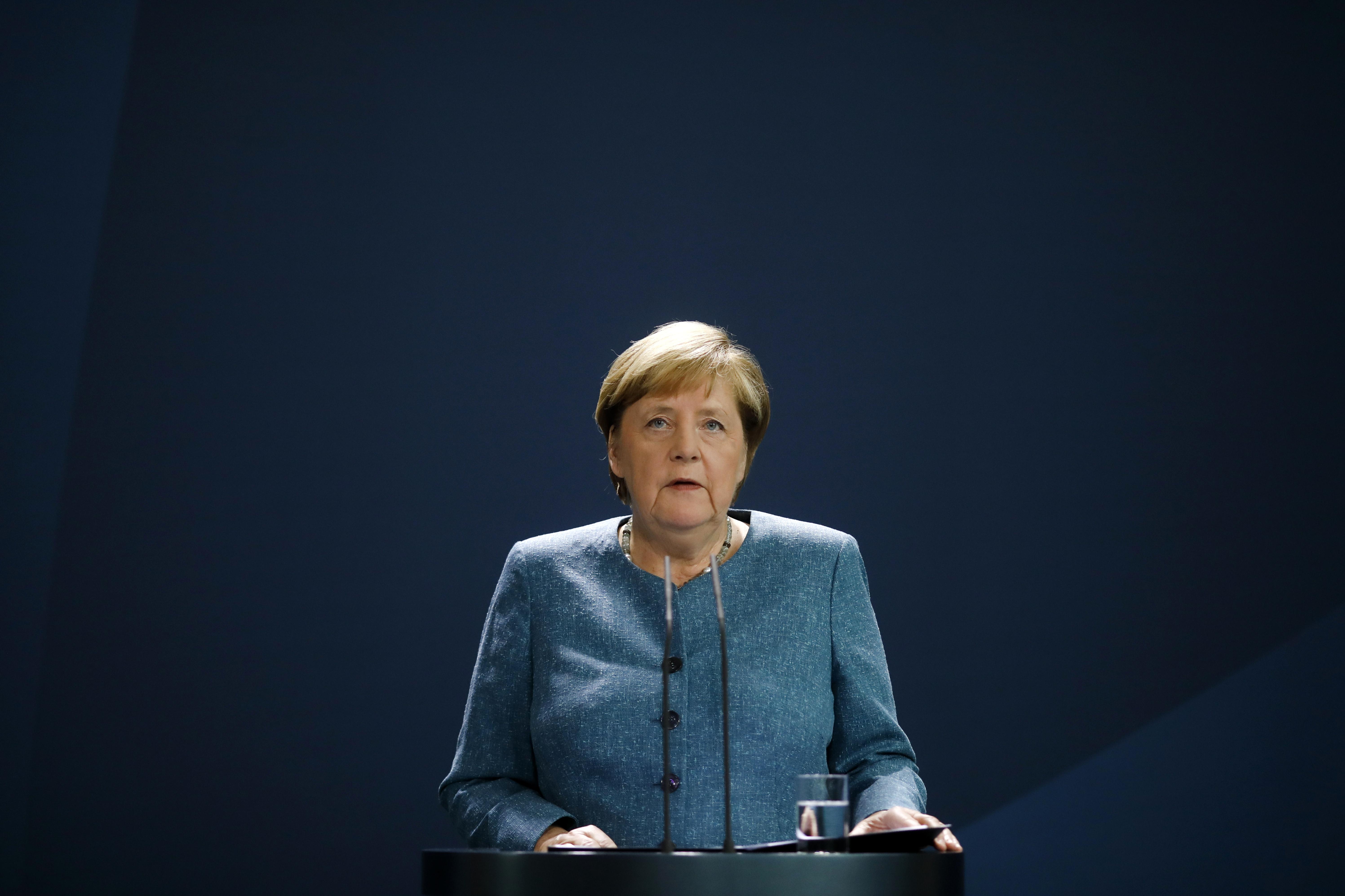 Foto van Angela Merkel