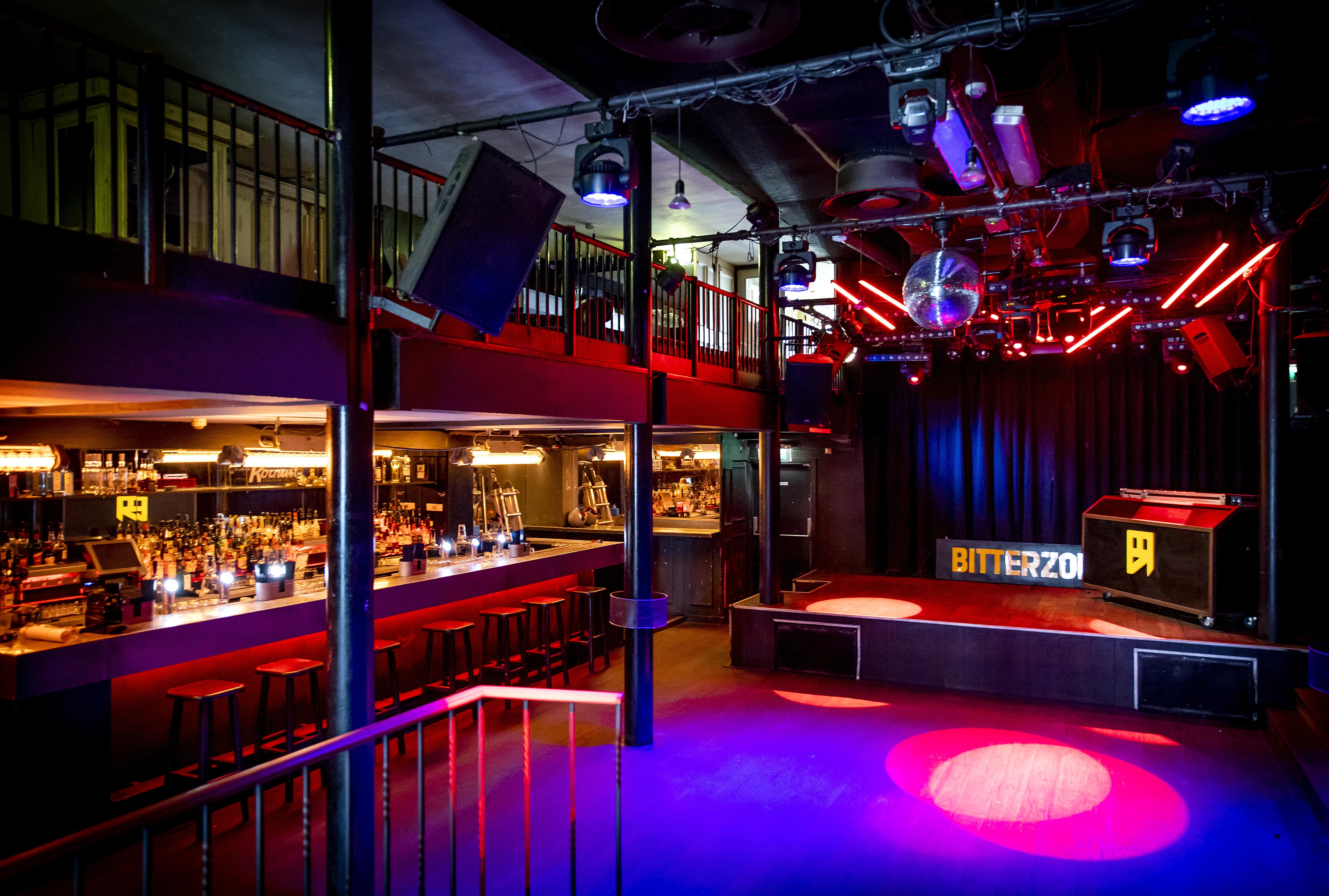 Amsterdamse nachtclubs vanmiddag in actie op het Museumplein