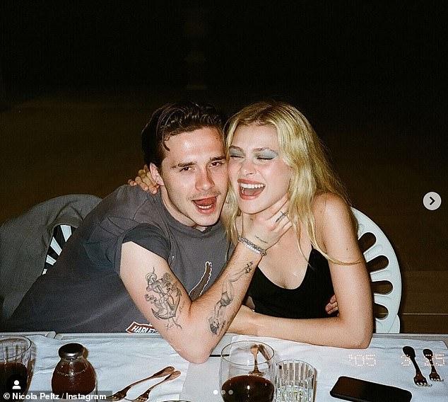 De foto van Brooklyn Beckham en zijn verloofde Nicola Peltz