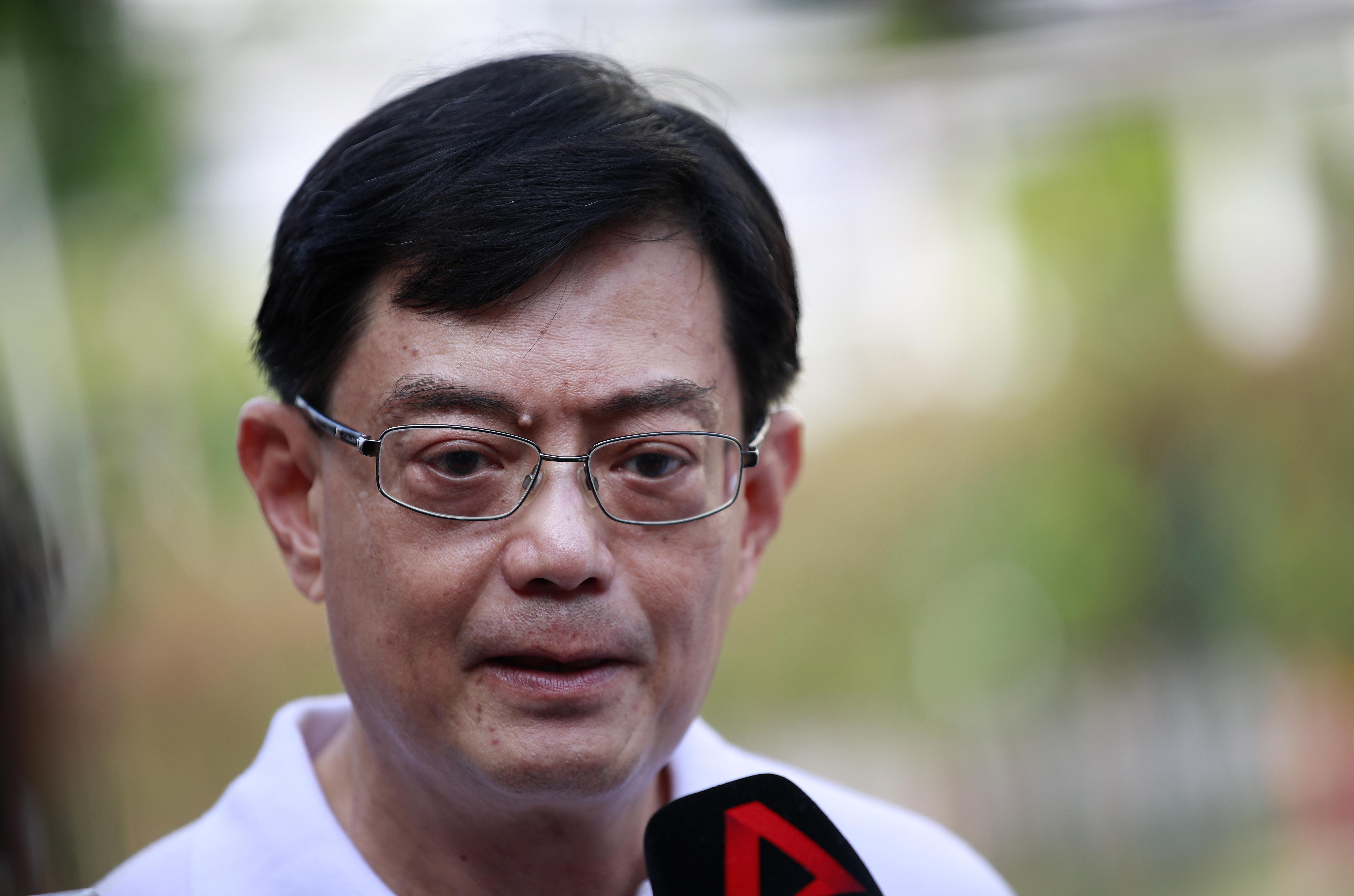 Minister Heng Swee Keat van Singapore