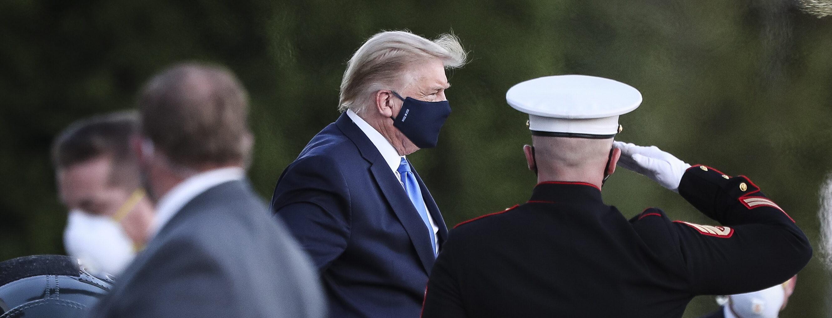 Trump mogelijk maandag ontslagen uit ziekenhuis