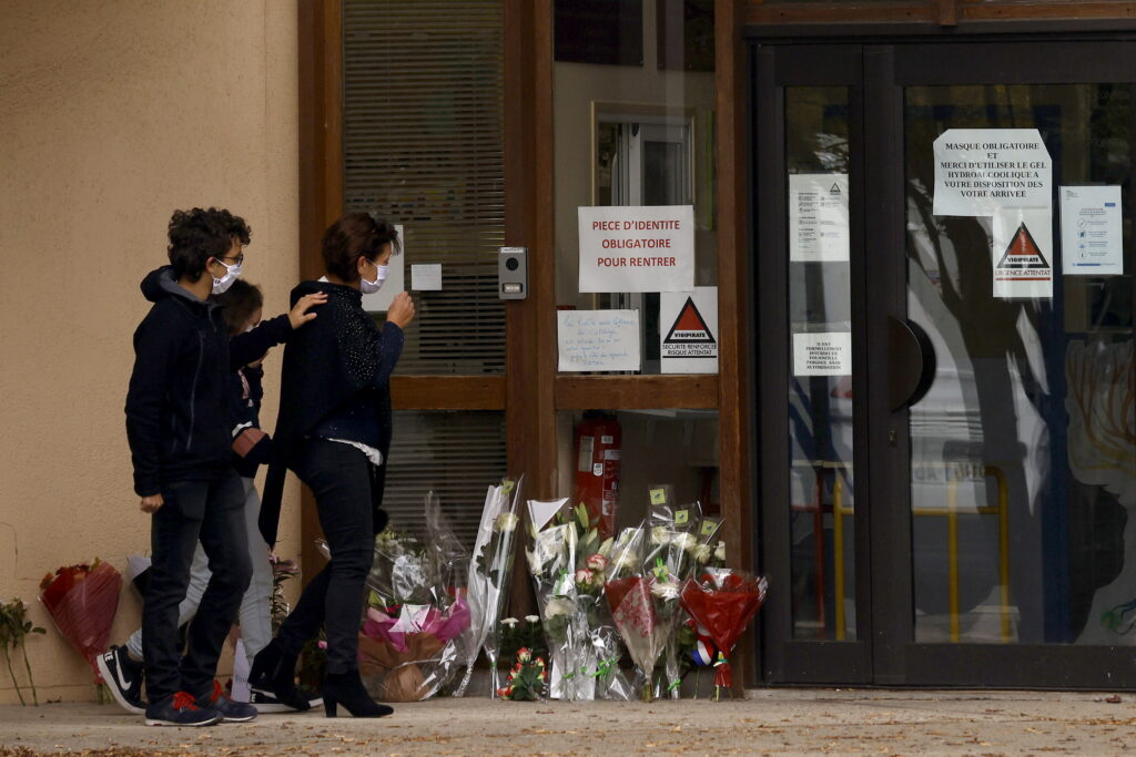 School vermoorde leraar