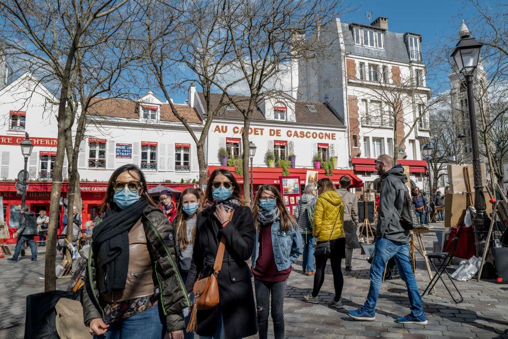Inwoners van Parijs kunnen alleen vandaag nog een uitgaansgebied in
