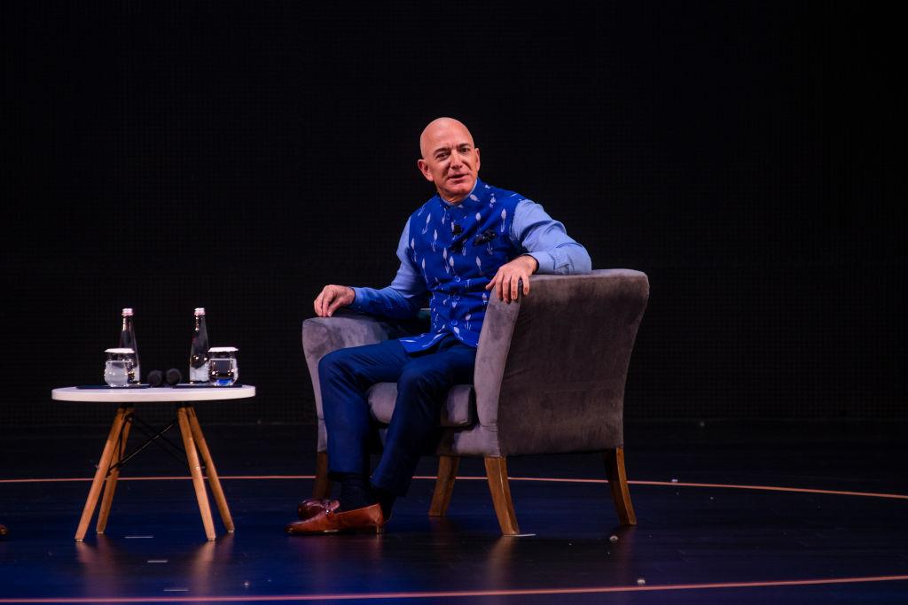 Amazon topman Jeff Bezos