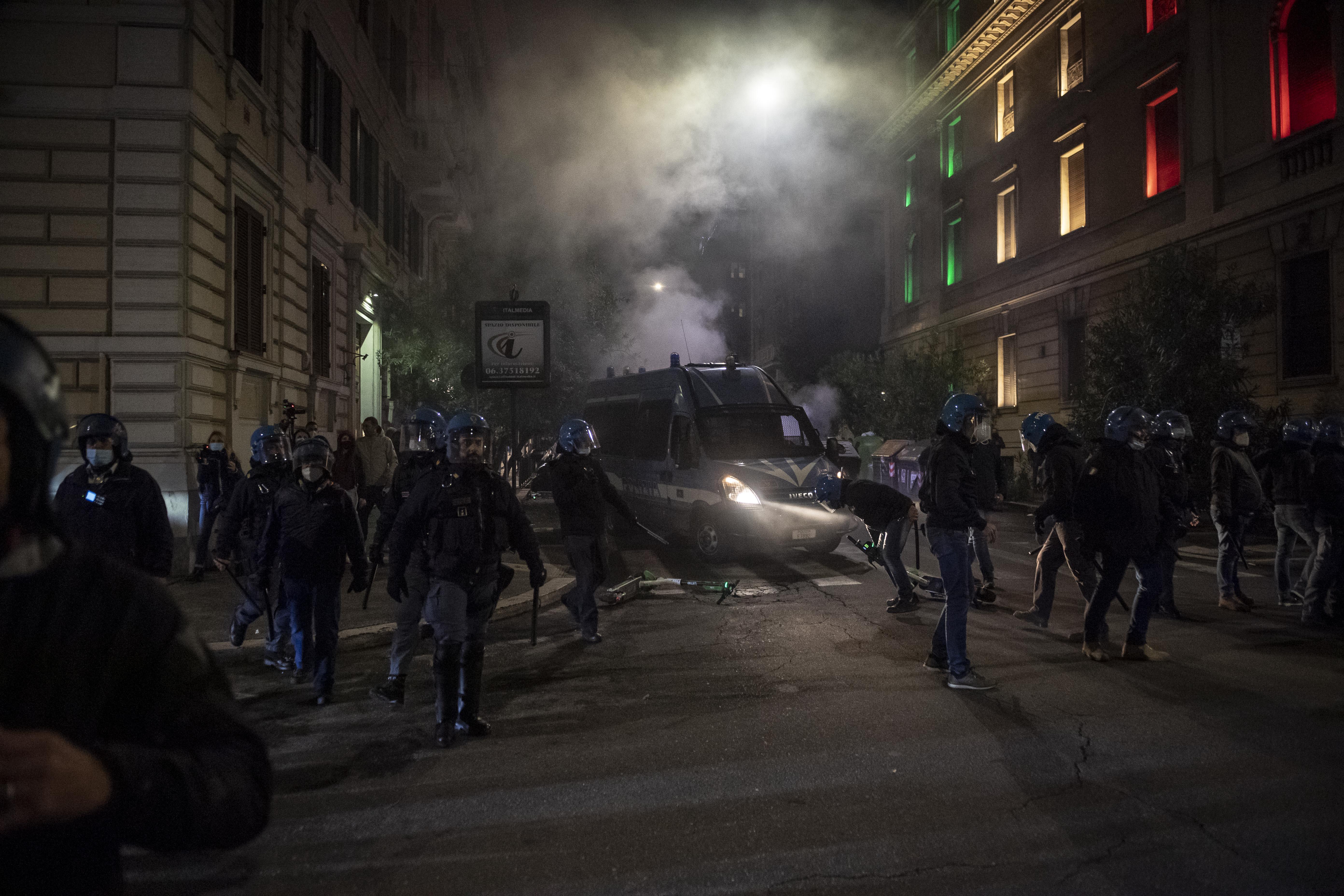 Demonstratie Rome