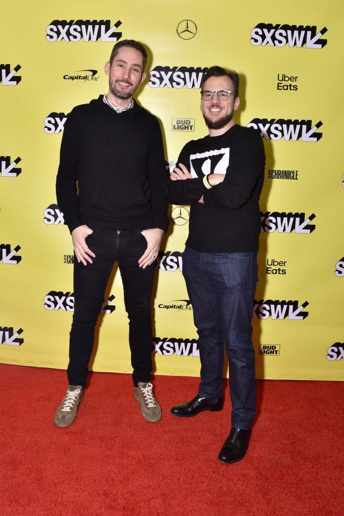 Een foto van de twee oprichters van Instagram