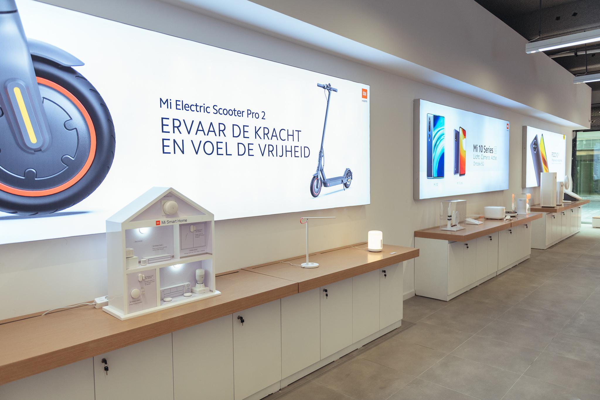 Een foto van de Mi Store in Rotterdamn Rotterdam