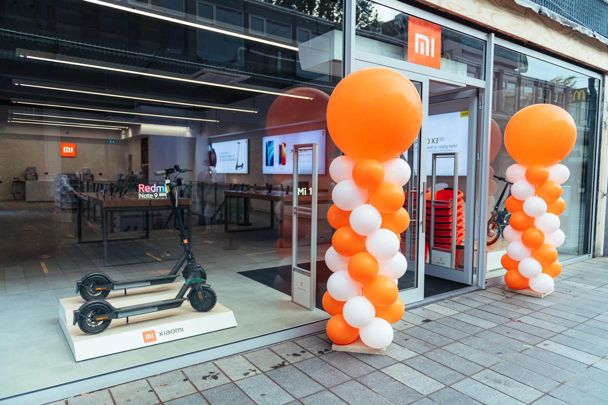 Een foto van de Mi Store in Rotterdam