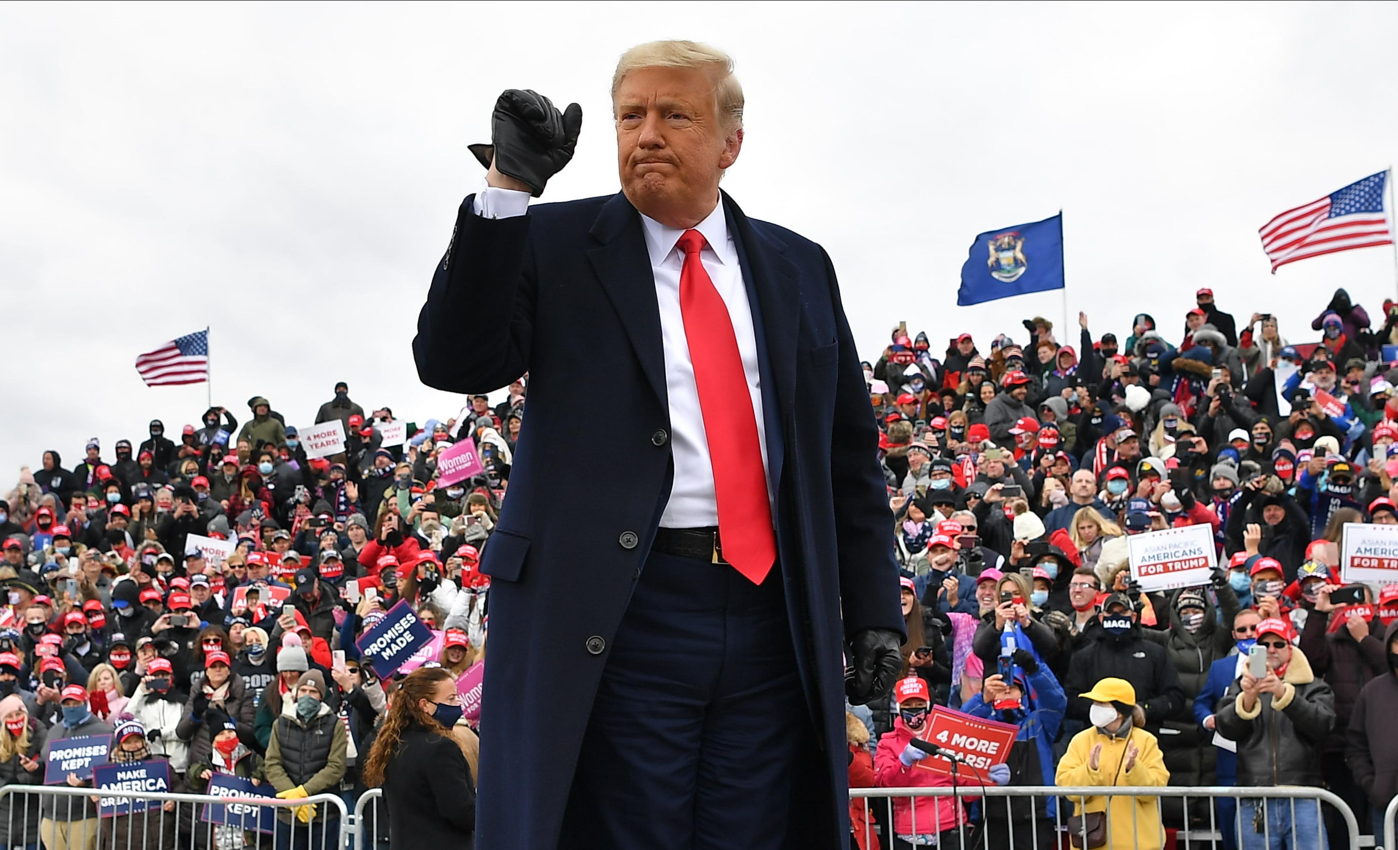 Foto van Trump