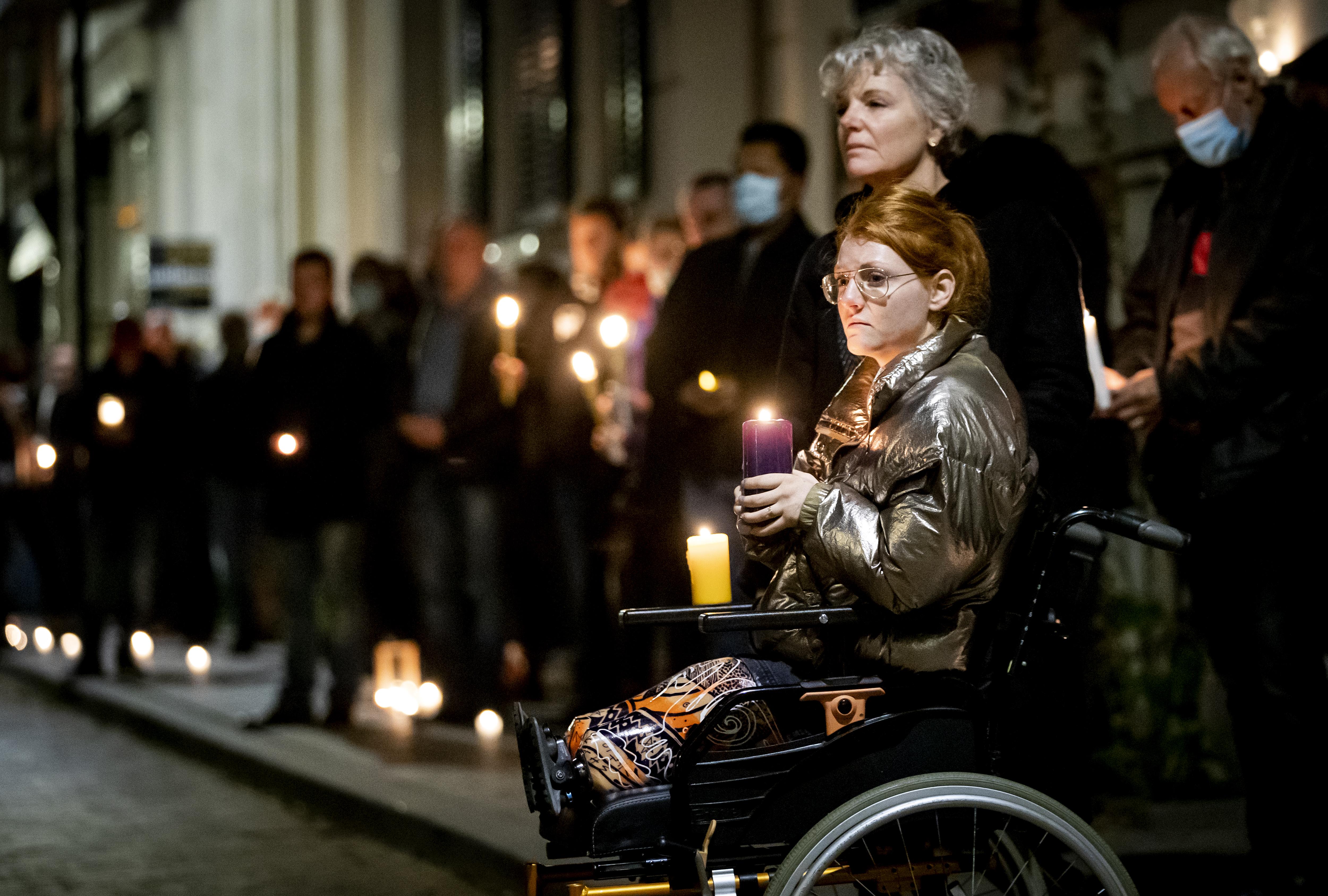 Herdenking met lichtjes voor doodgeslagen Arnhemmer