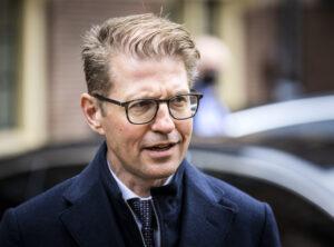 Een foto van minister Sander Dekker