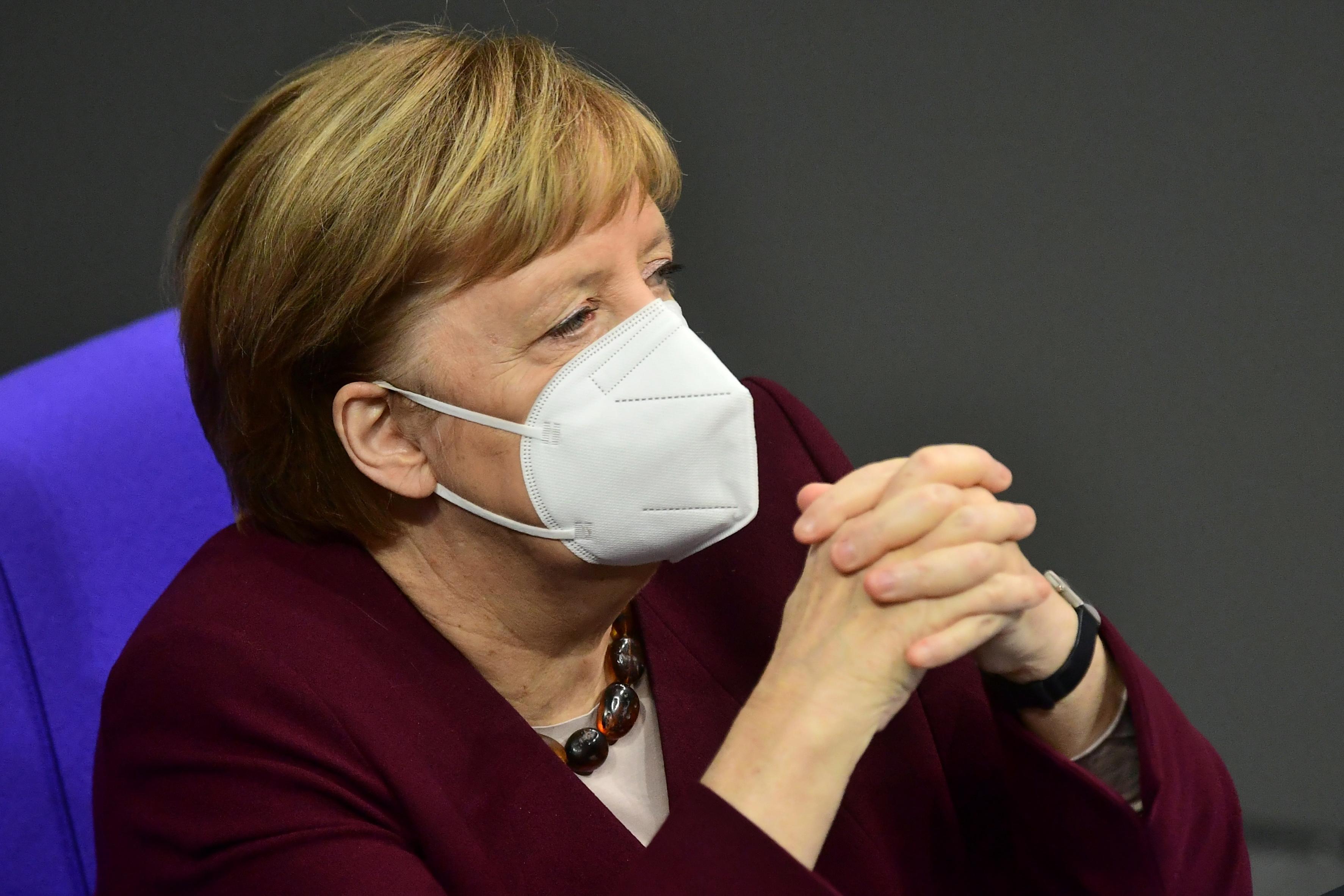 Een foto van Angela Merkel
