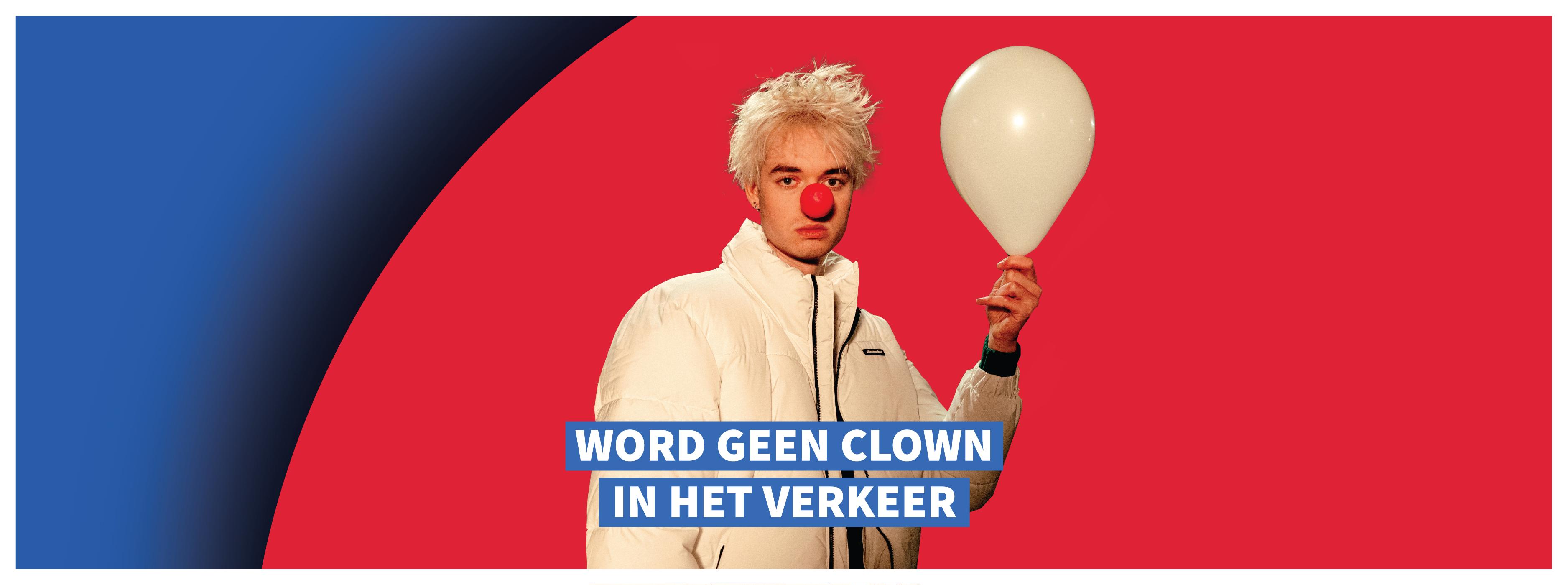 """Jeugdorganisatie TeamAlert: """"Word geen clown in het verkeer"""""""