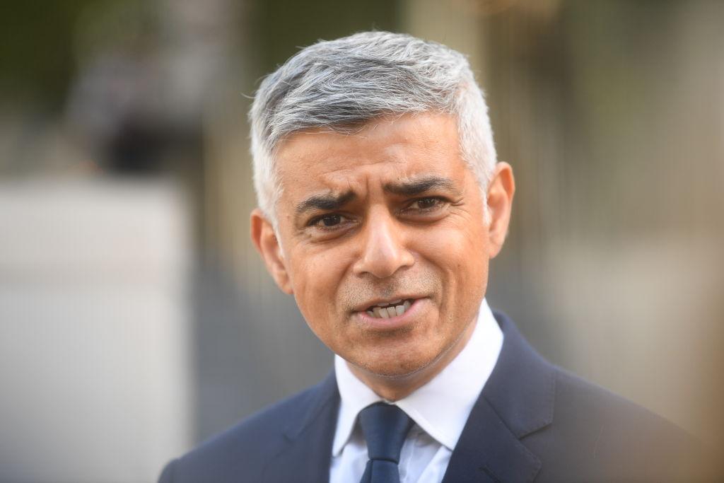 Een foto van de burgemeester van Londen