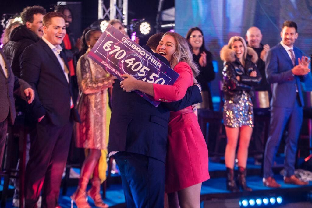 Winnares Jill van Big Brother geloofde het niet toen zij ...